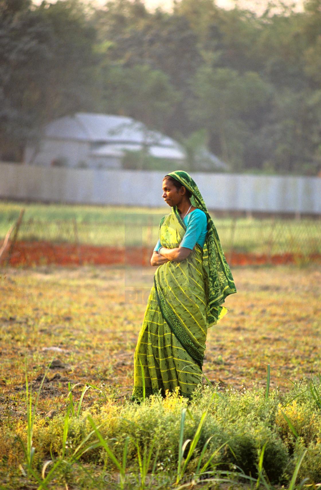 """""""Woman in Gorashin village, Tangail. Bangladesh."""" stock image"""
