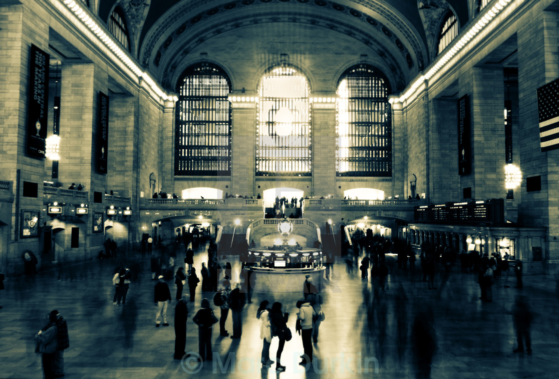 """Grand Central NYC"" stock image"