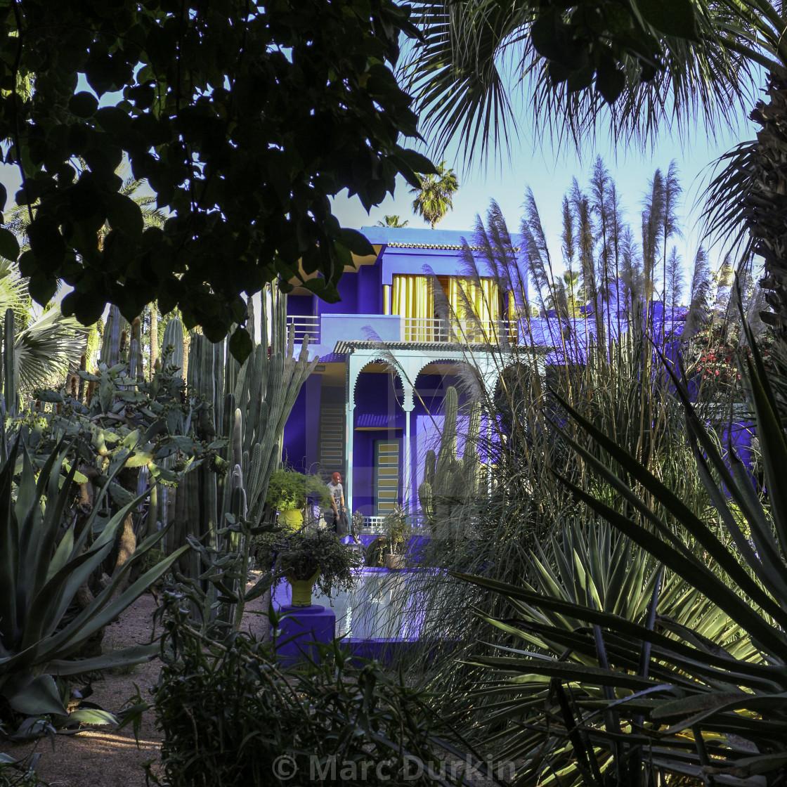 """""""A glimpse of the Villa"""" stock image"""
