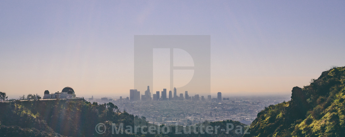 """Los Angeles"" stock image"