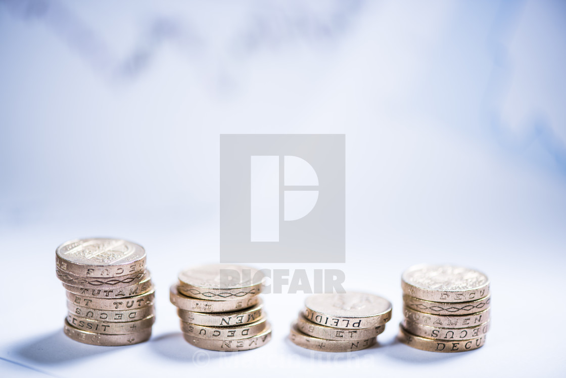 """savings and investments in pound sterling"" stock image"