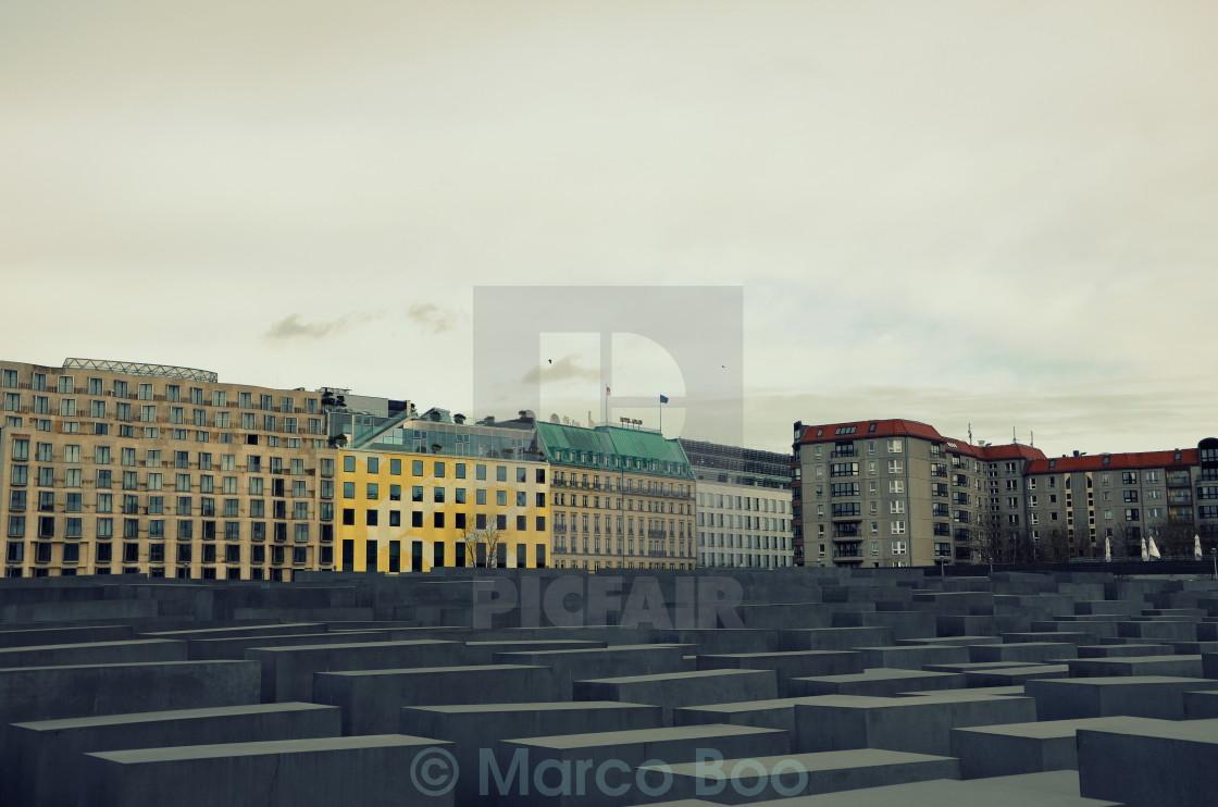 """Holocaust Memorial 7"" stock image"
