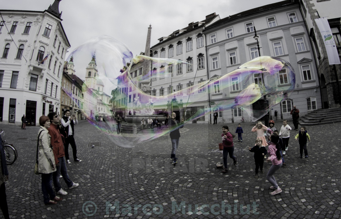 """Bubble Happiness"" stock image"