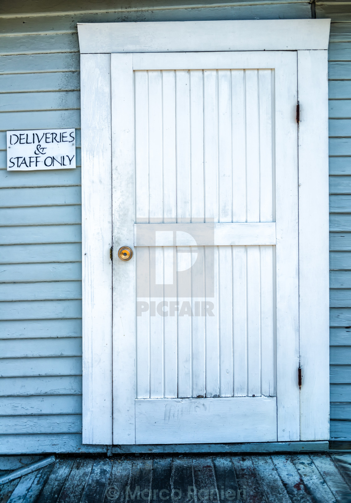 """Dirty Door"" stock image"