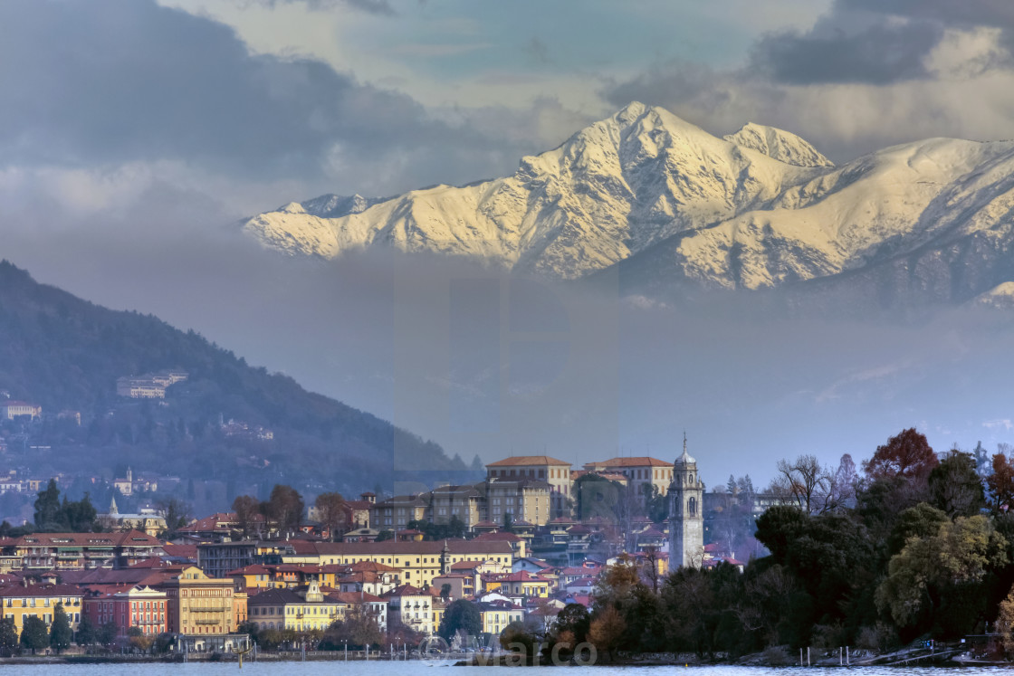 """Verbania"" stock image"