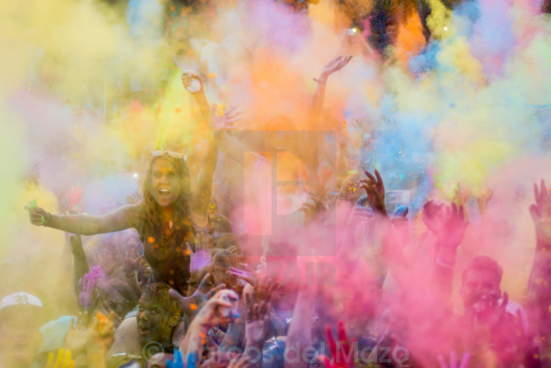 """Holi Celebration"" stock image"