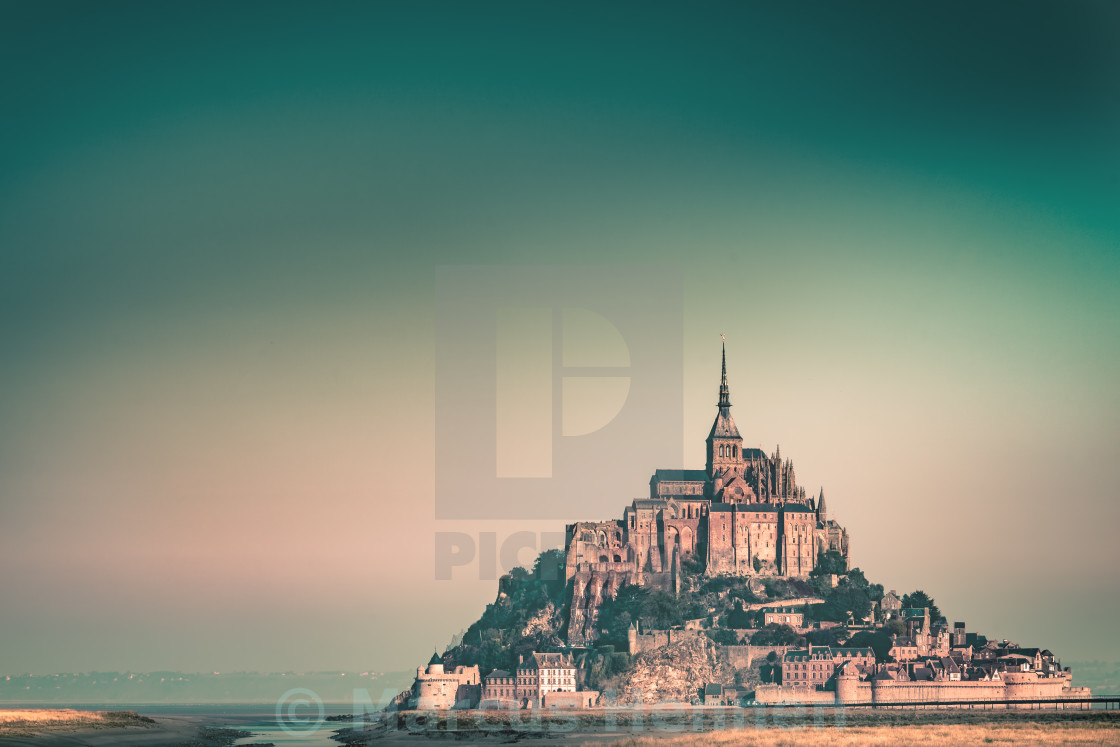 """Le Mont-Saint-Michel"" stock image"