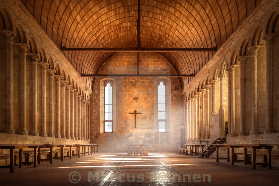 """The refectory"" stock image"