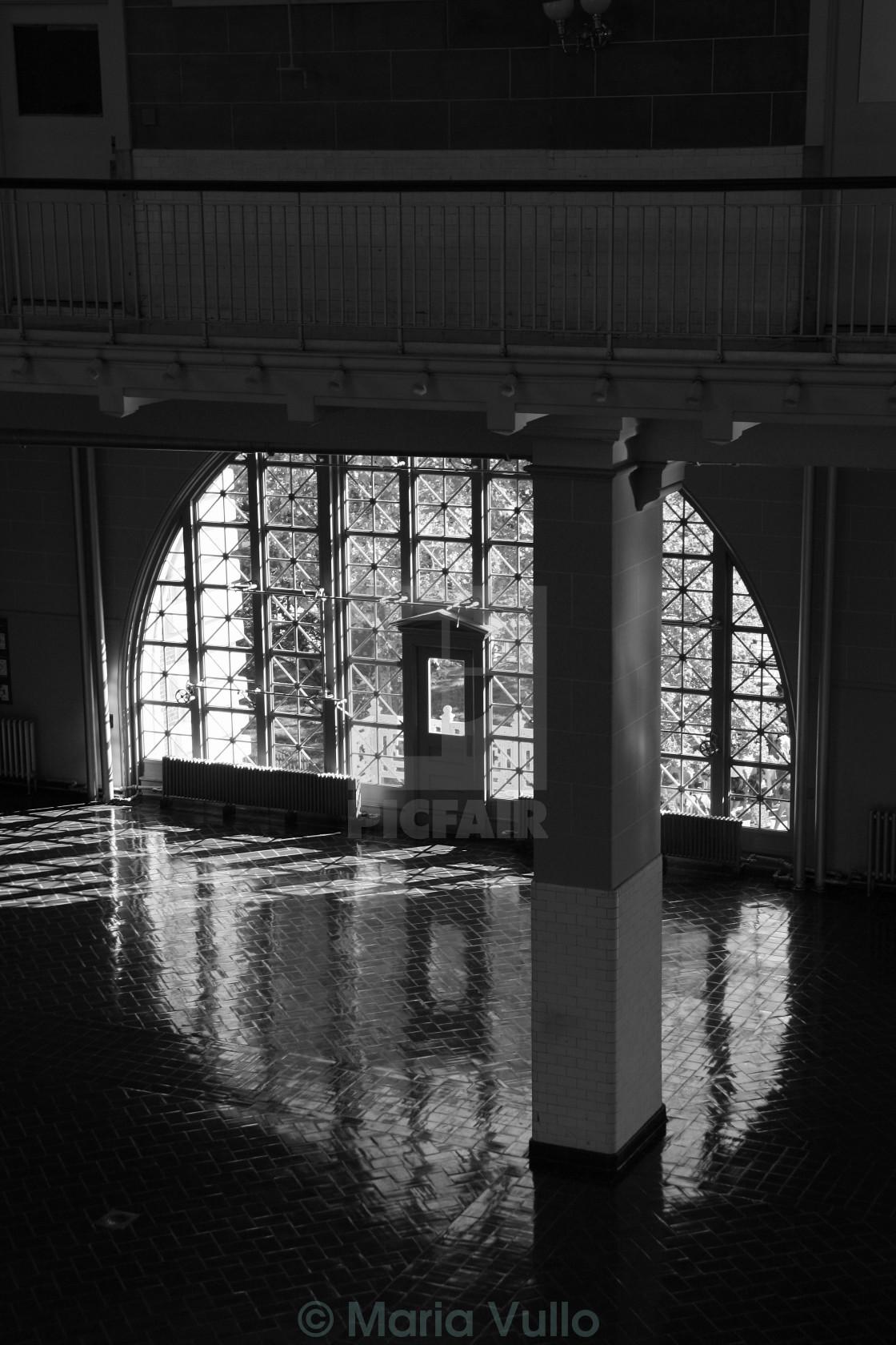 """Ellis Island 11"" stock image"