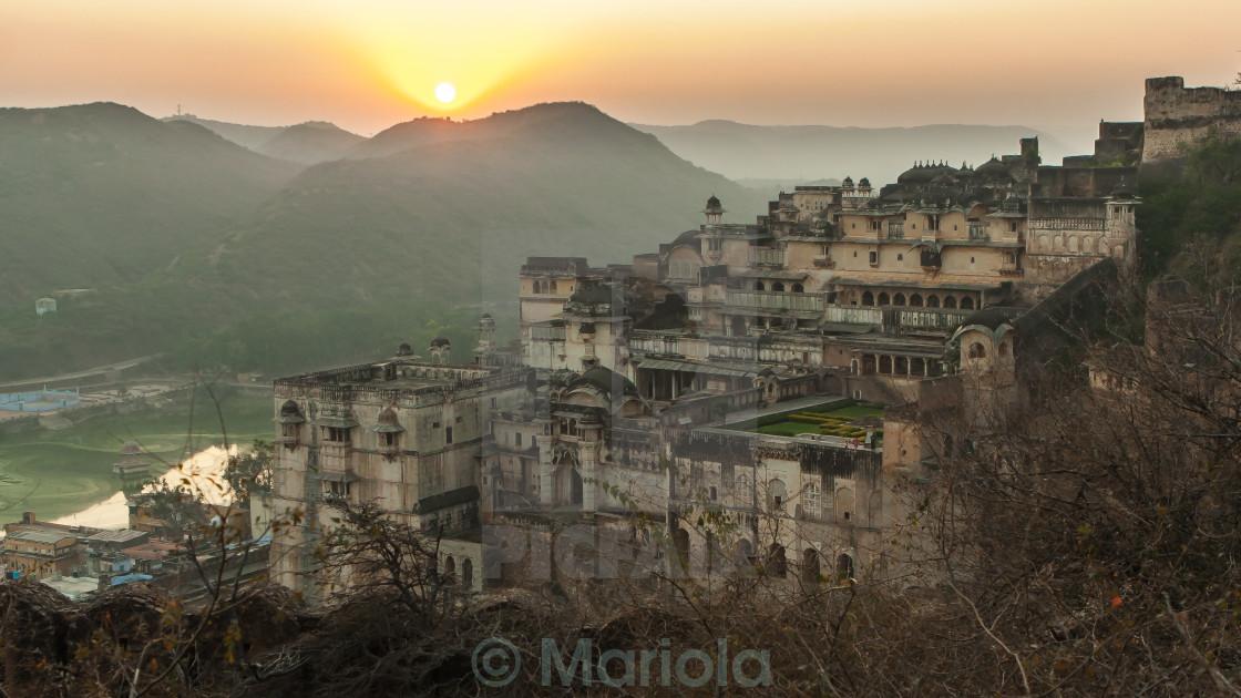 """""""Bundi Palace"""" stock image"""