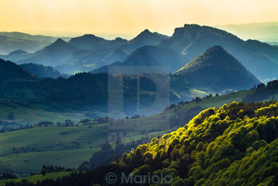 """""""Pieniny Mountains"""" stock image"""