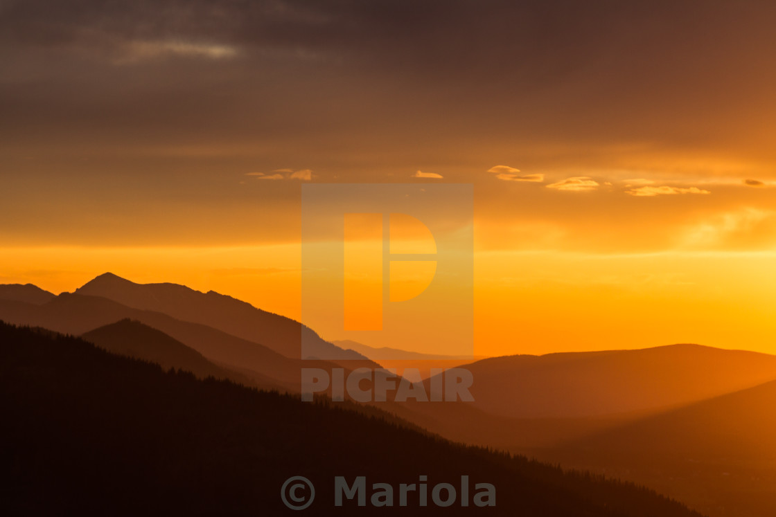 """""""day ends"""" stock image"""