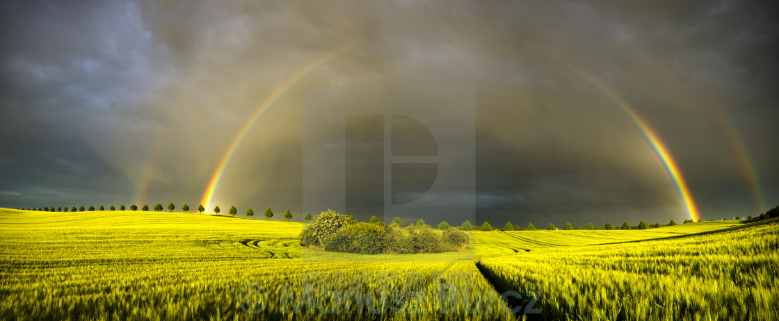 """rainbows"" stock image"
