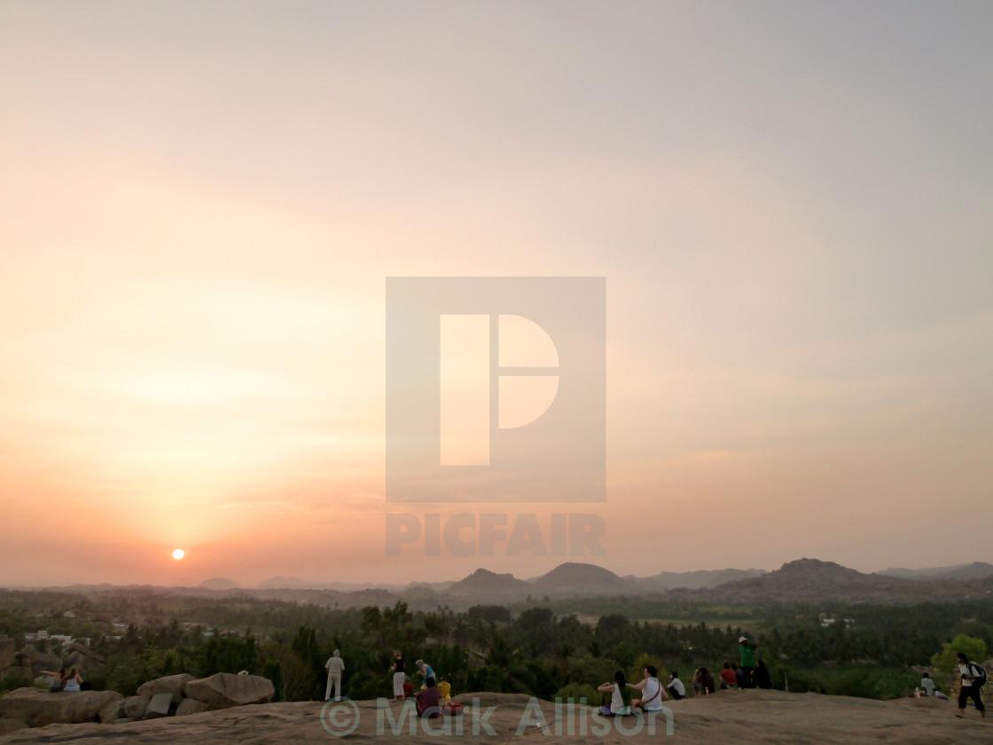 """Indian Sunset"" stock image"