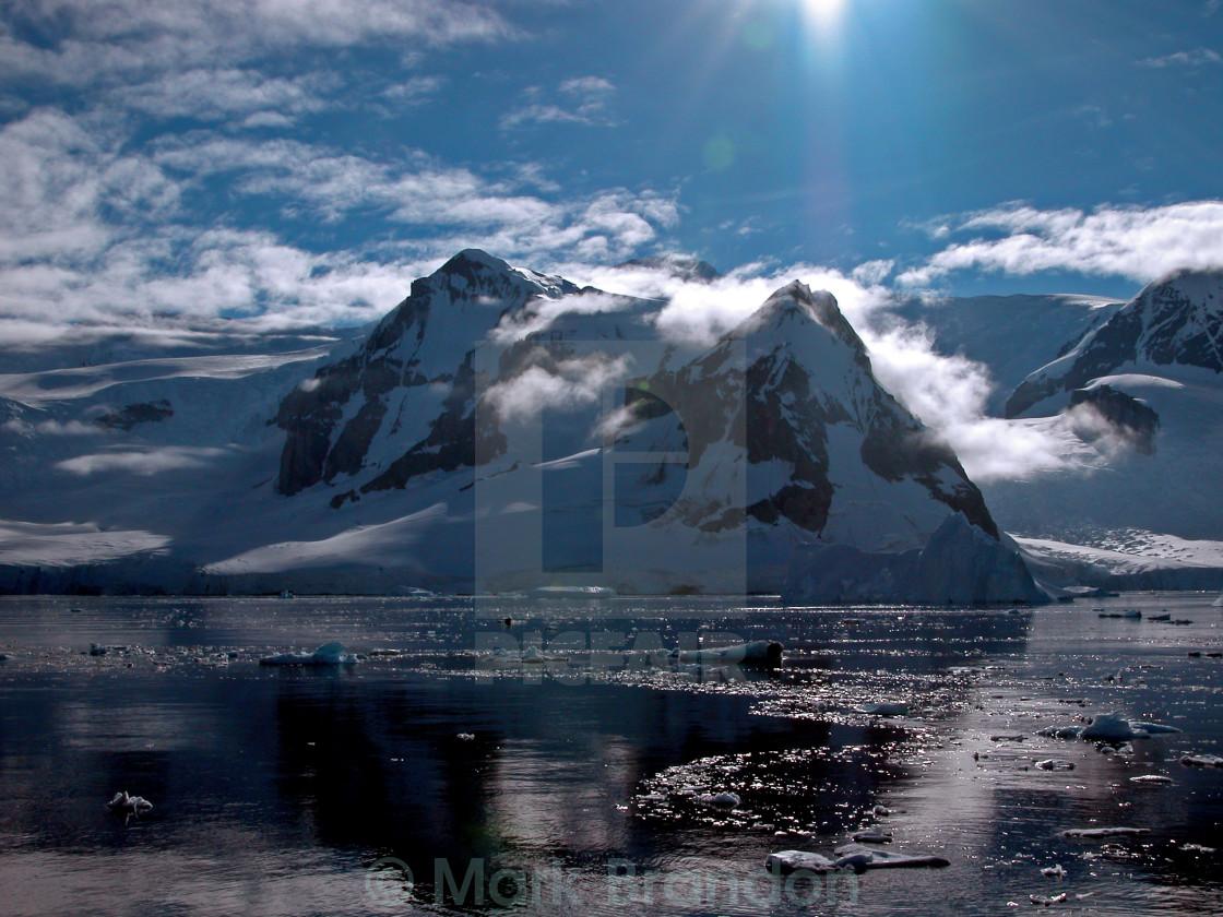 """The Errera Channel, Antarctic Peninsula"" stock image"