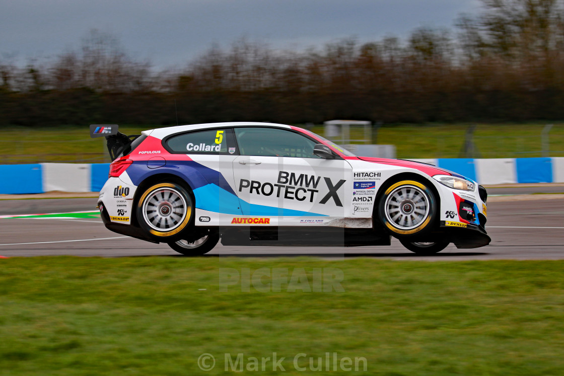 """Rob Collard, Team BMW, Donington Park"" stock image"
