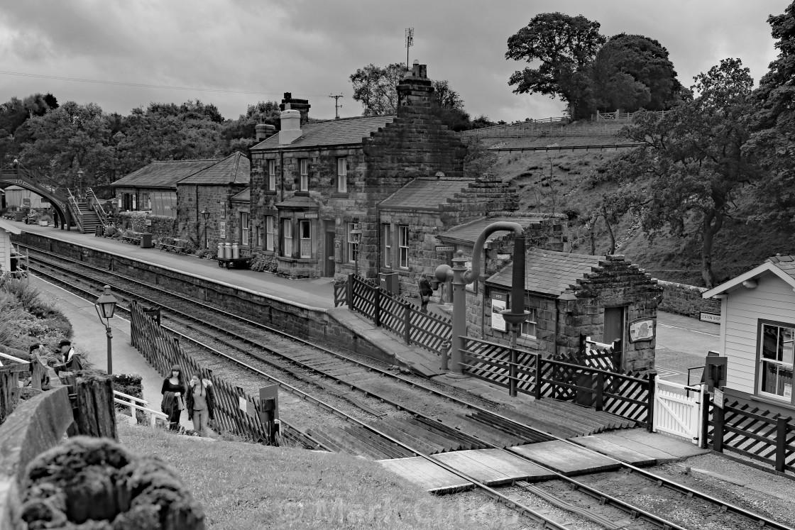 """""""Goathland Station"""" stock image"""
