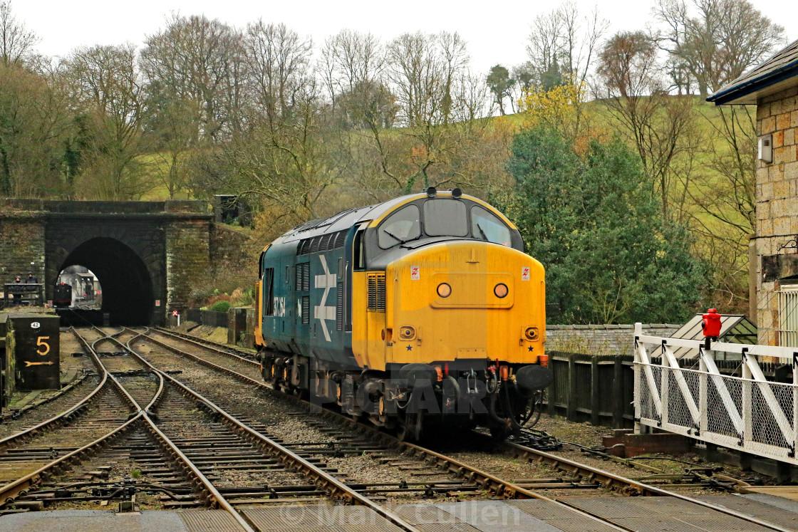 """""""British Rail Class 37264"""" stock image"""
