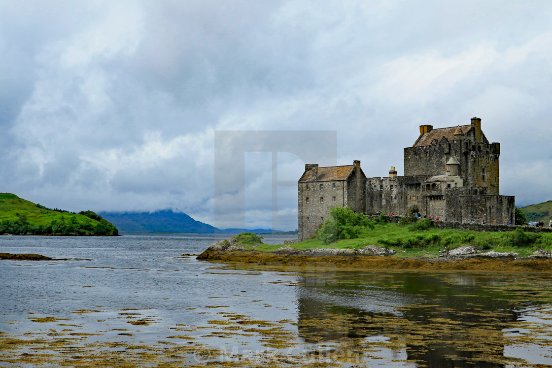 """Defending the Lochs"" stock image"