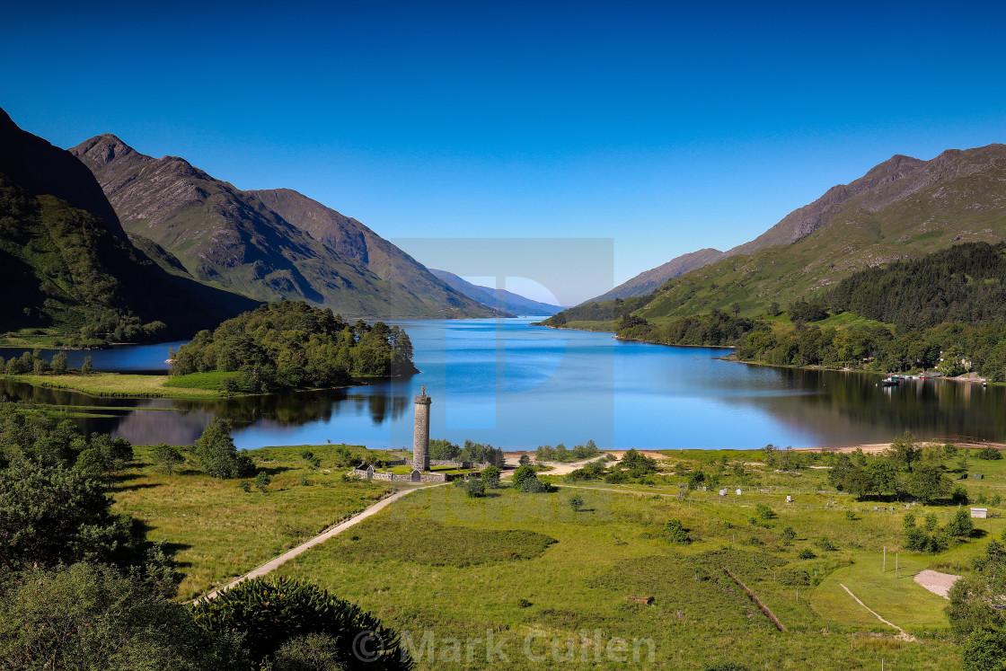 """""""Glenfinnan Monument"""" stock image"""