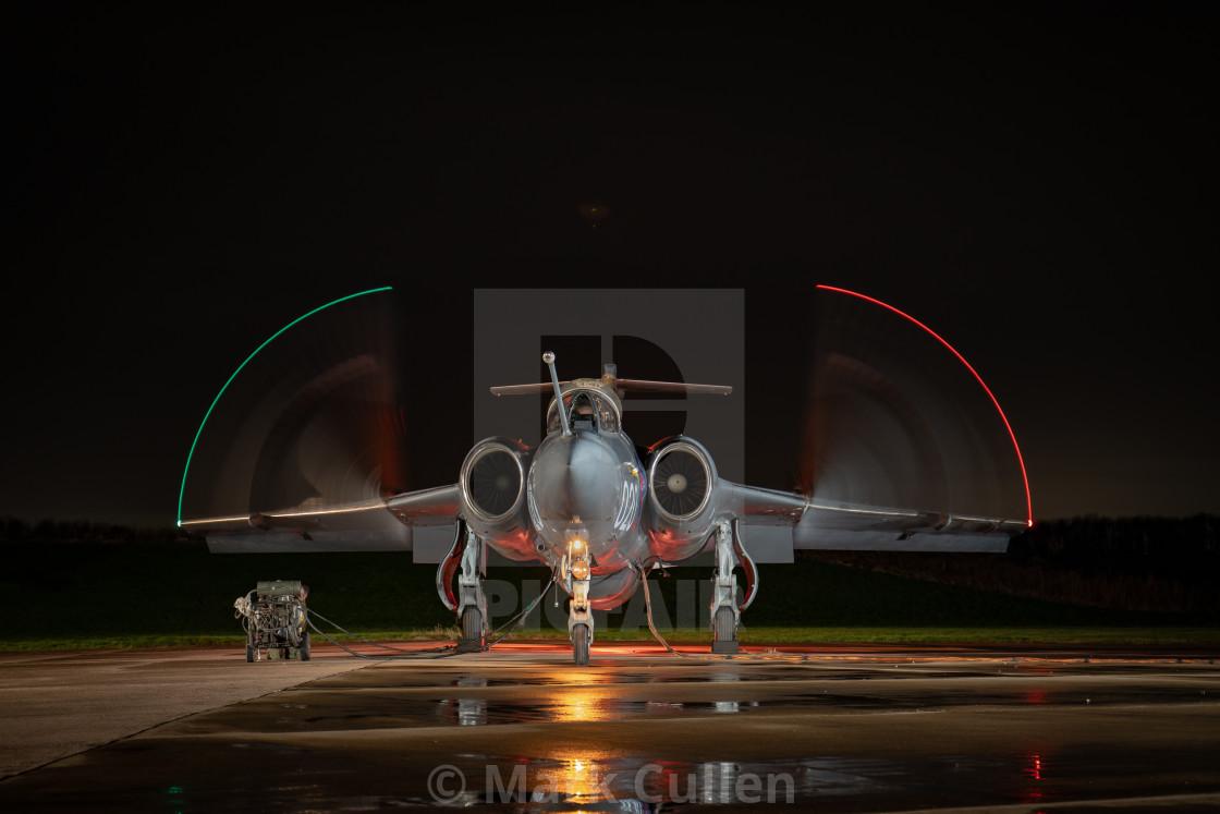 """""""Buccaneer S.2B XX894 R-020"""" stock image"""