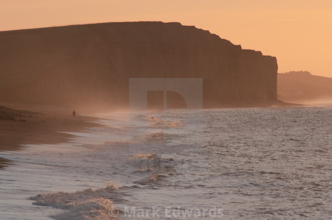 """Man V Sea"" stock image"