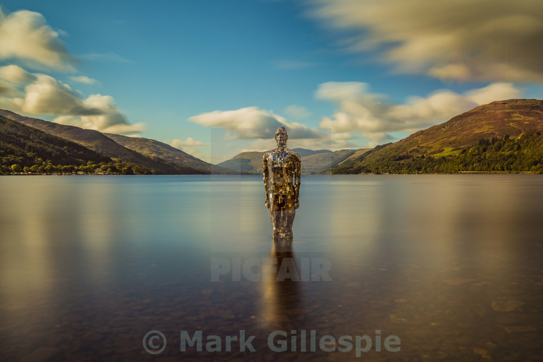 """St Fillans"" stock image"