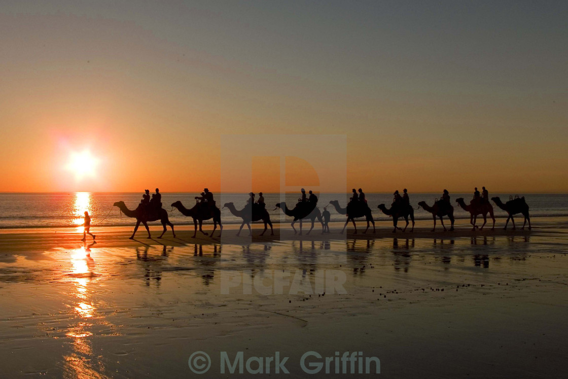 """Cable Beach"" stock image"