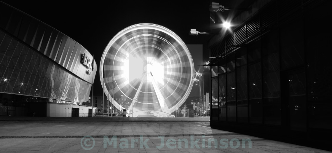 """Liverpool's Wheel"" stock image"