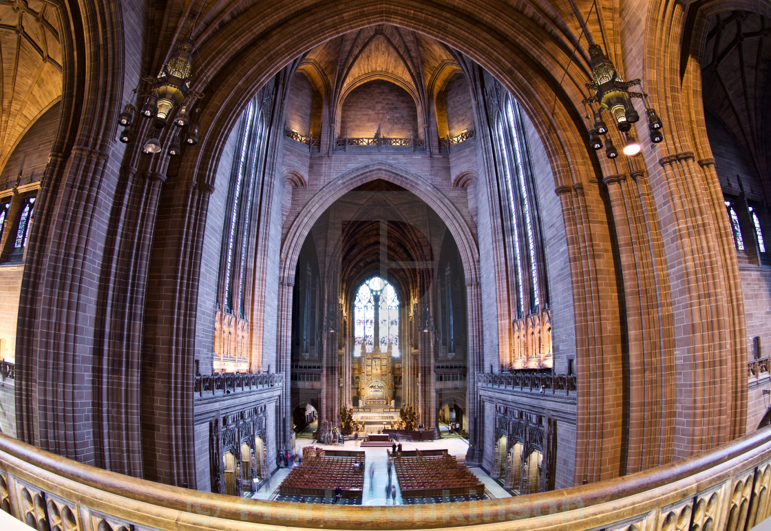 """Liverpool's Anglican Cathedral"" stock image"
