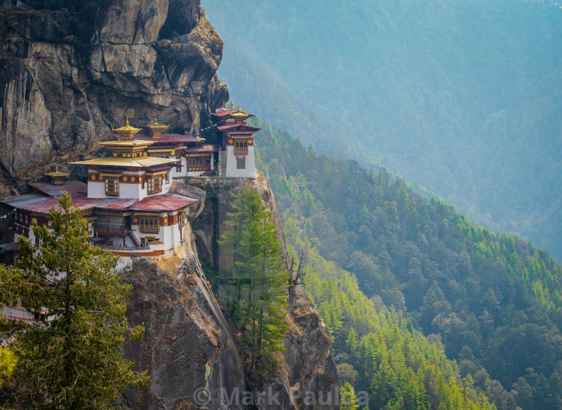 """Paro Taktsang Bhutan"" stock image"