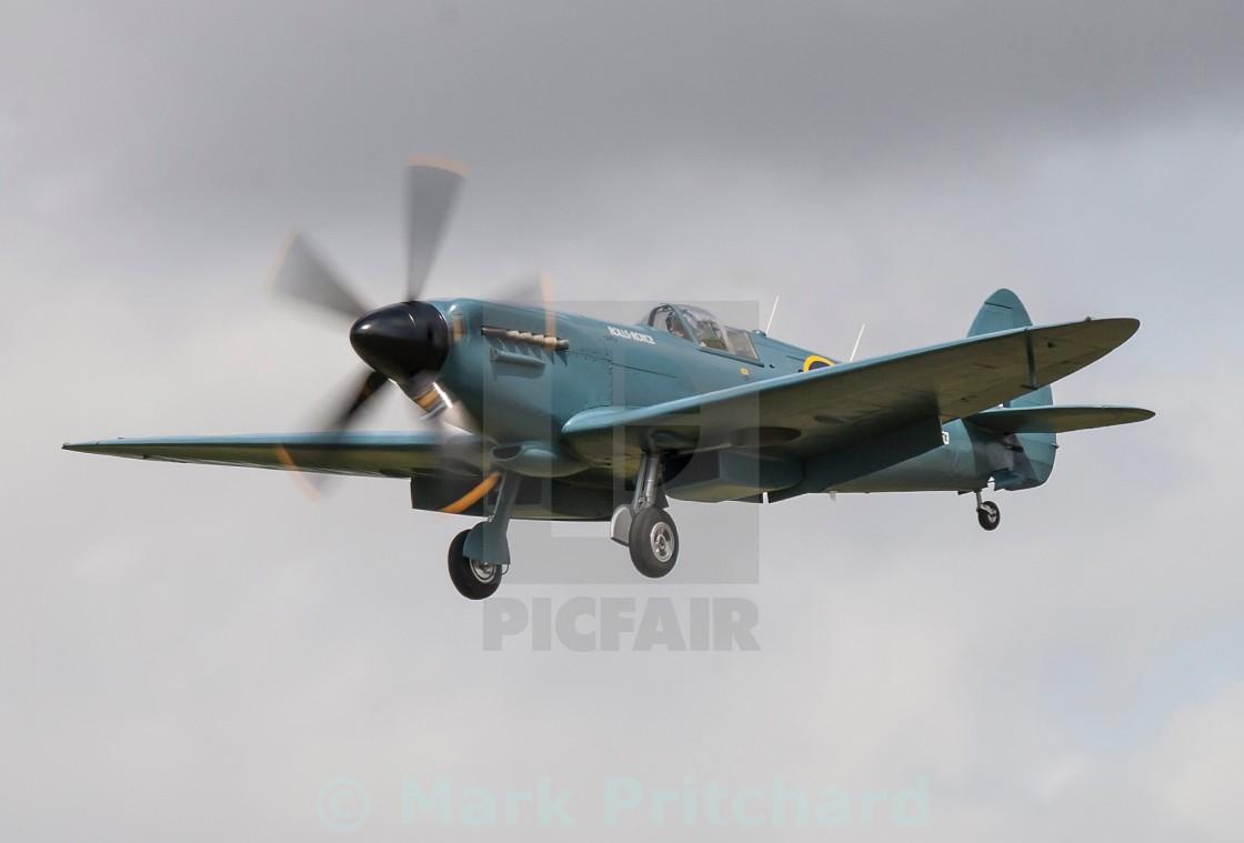 """Spitfire's 80th Birthday"" stock image"