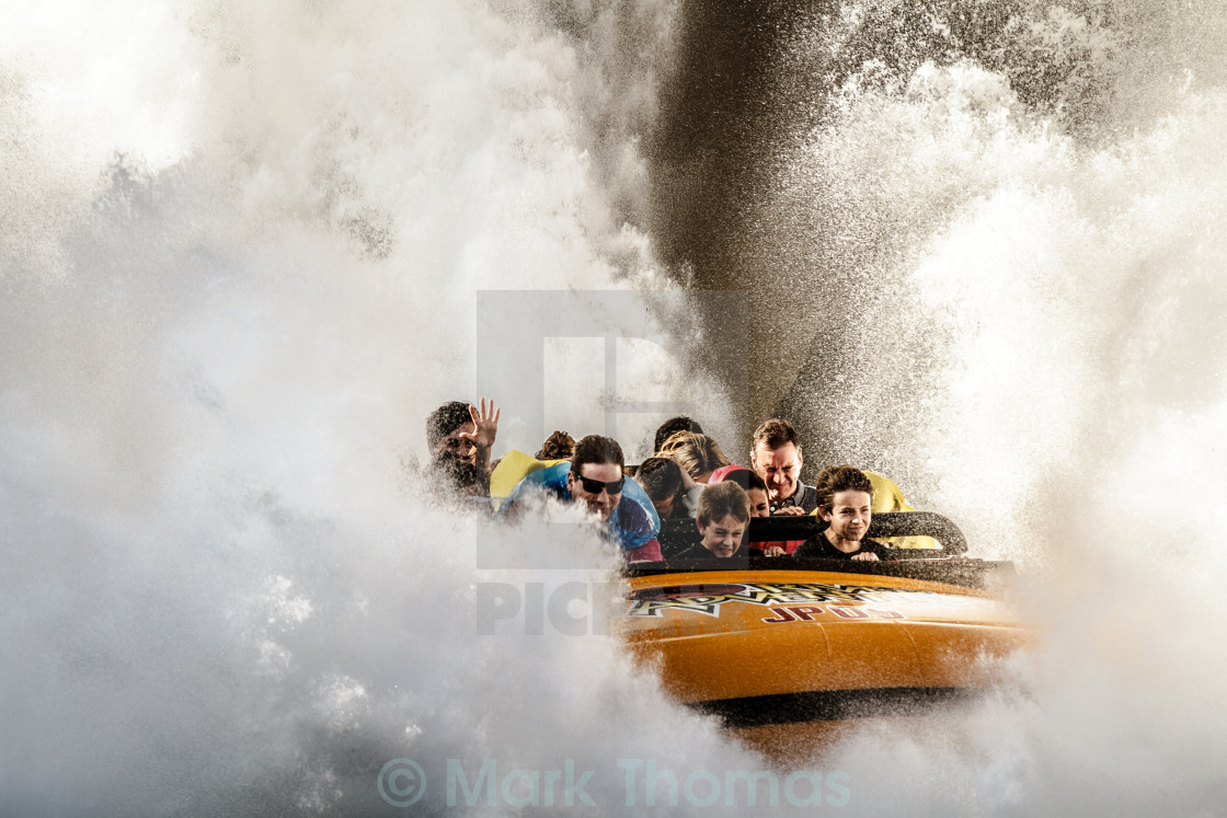 """The Big Splash"" stock image"