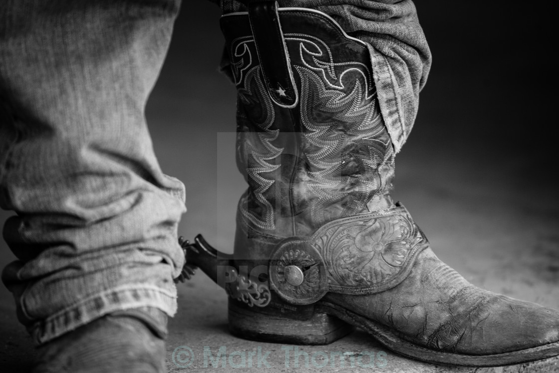 """Cowboy Boots"" stock image"