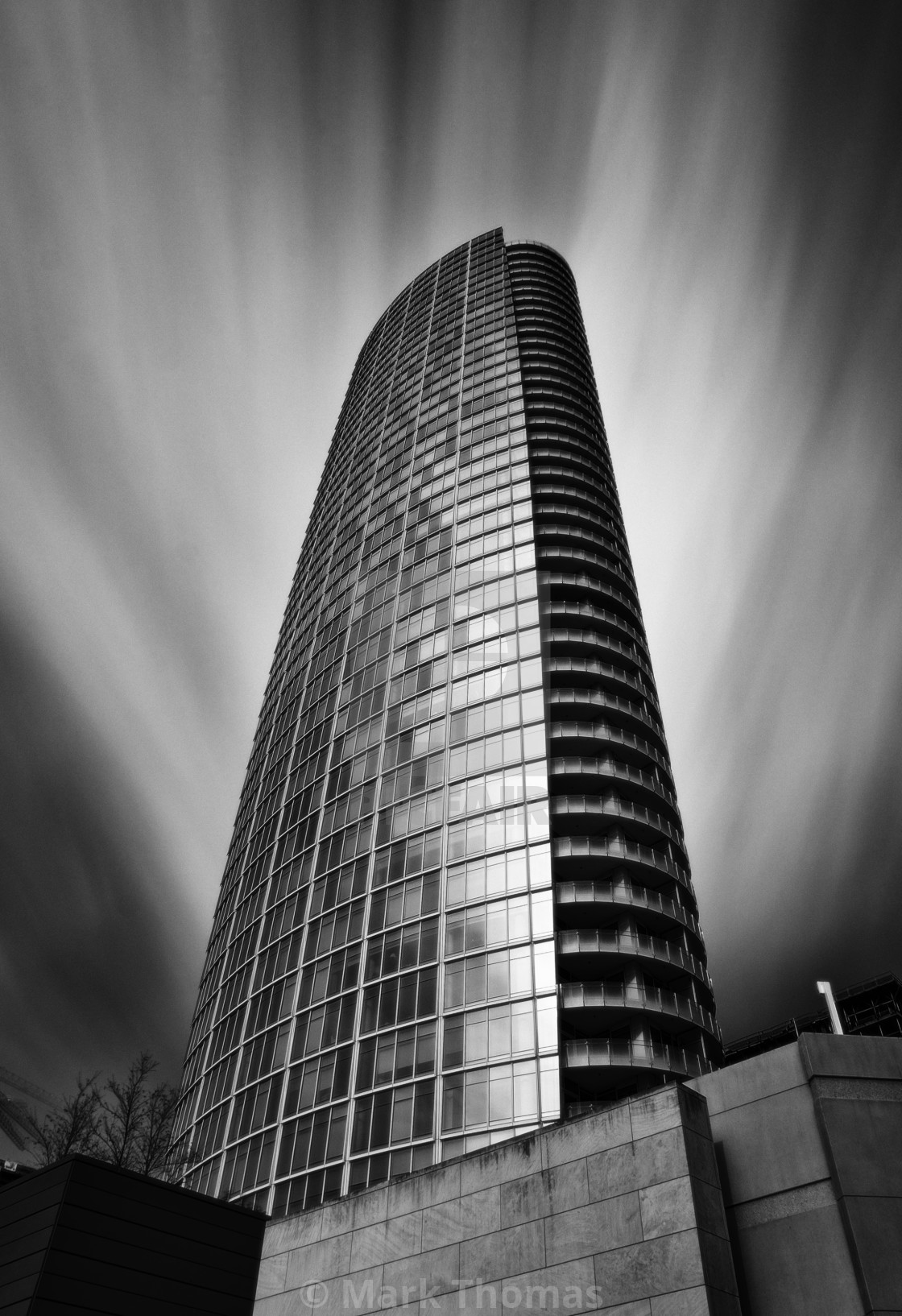 """""""Museum Tower"""" stock image"""