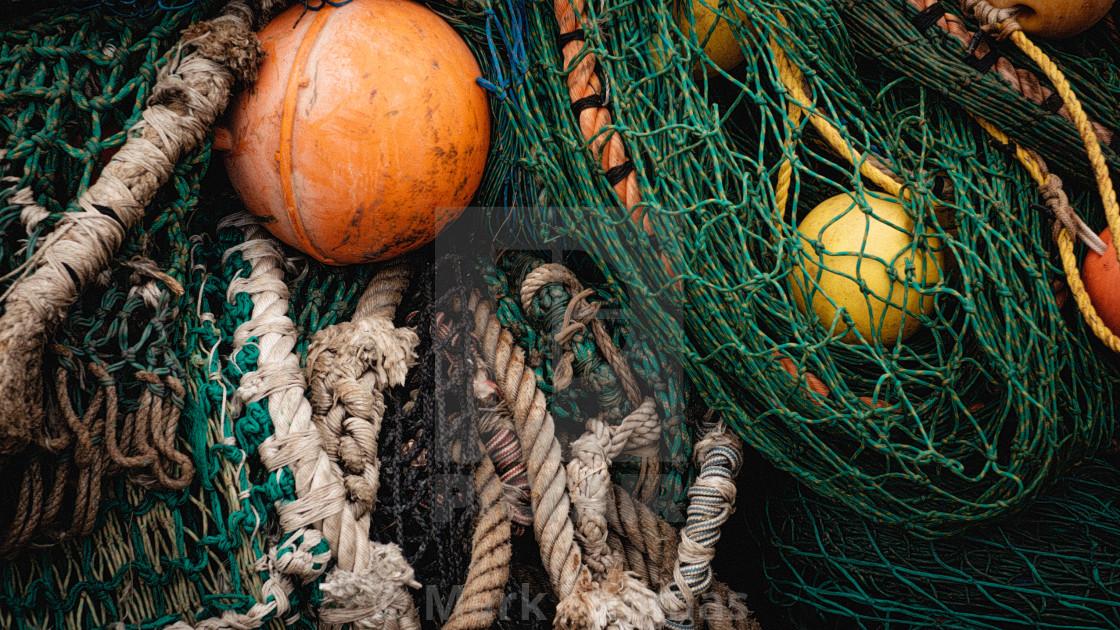 """Fishing Nets"" stock image"