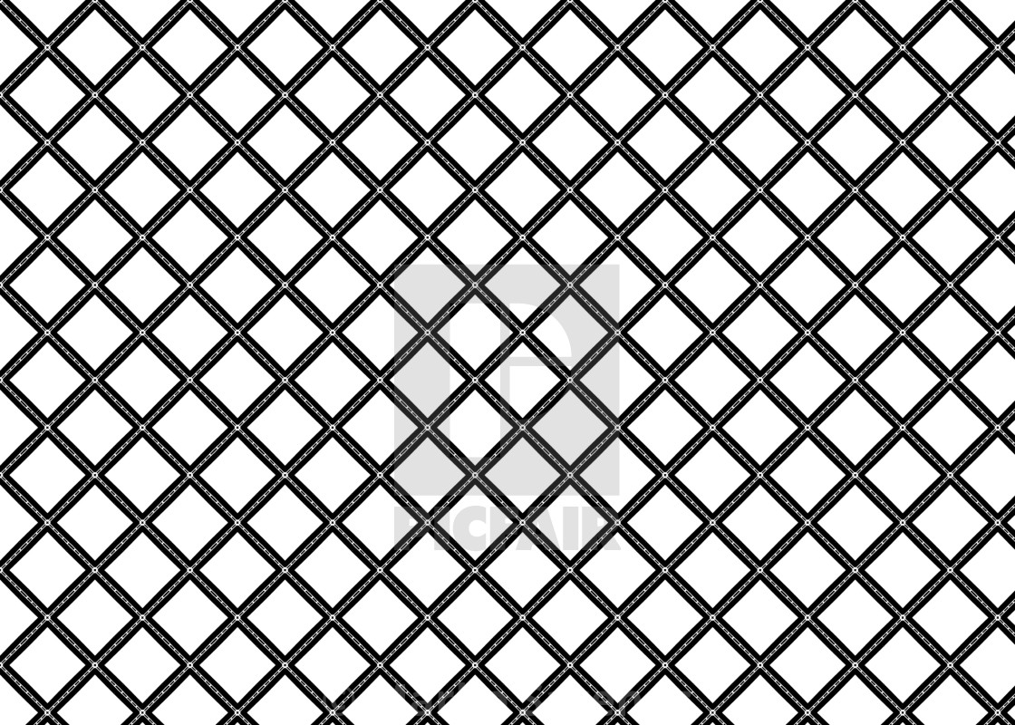 Pattern Abstract Art Shapes Deco Lines B W License