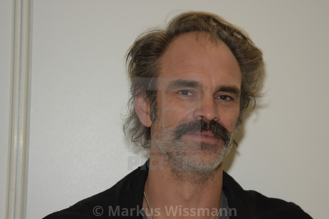 MANNHEIM, GERMANY - MARCH 17: Actor Steven Ogg (Simon on The