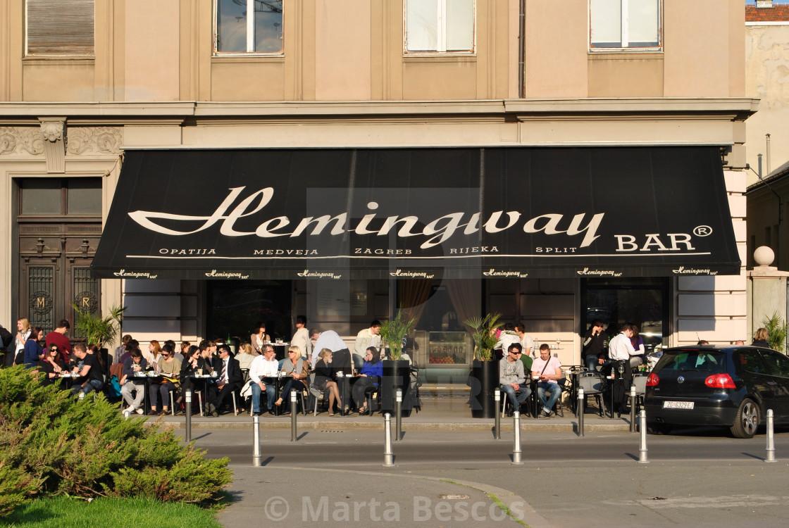 """""""Hemingway Lounge Bar"""" stock image"""