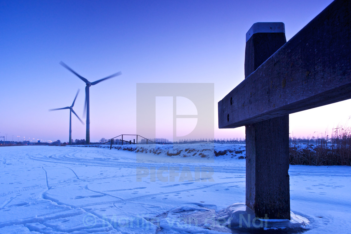 """Purple turbine"" stock image"