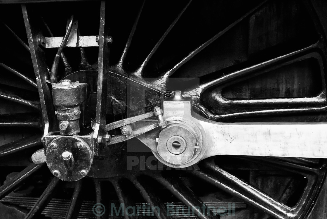 """Connecting rods"" stock image"