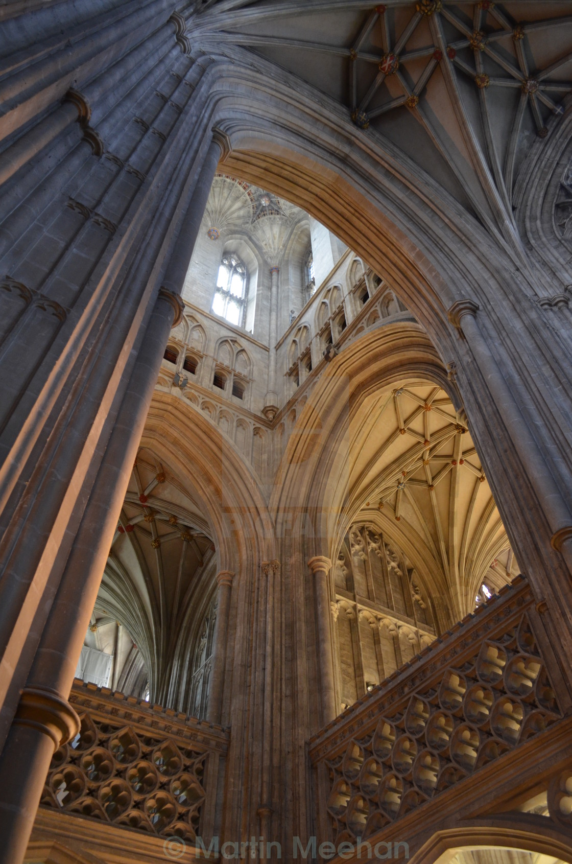 """Canterbury Cathedral."" stock image"