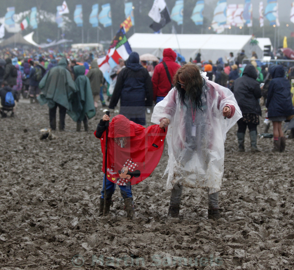 """Glastonbury Mud"" stock image"