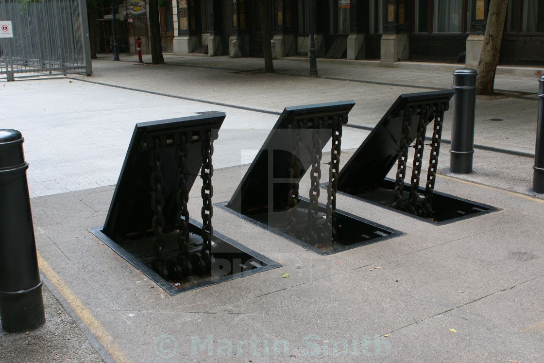 Traffic barriers - License, download or print for £3 71 | Photos