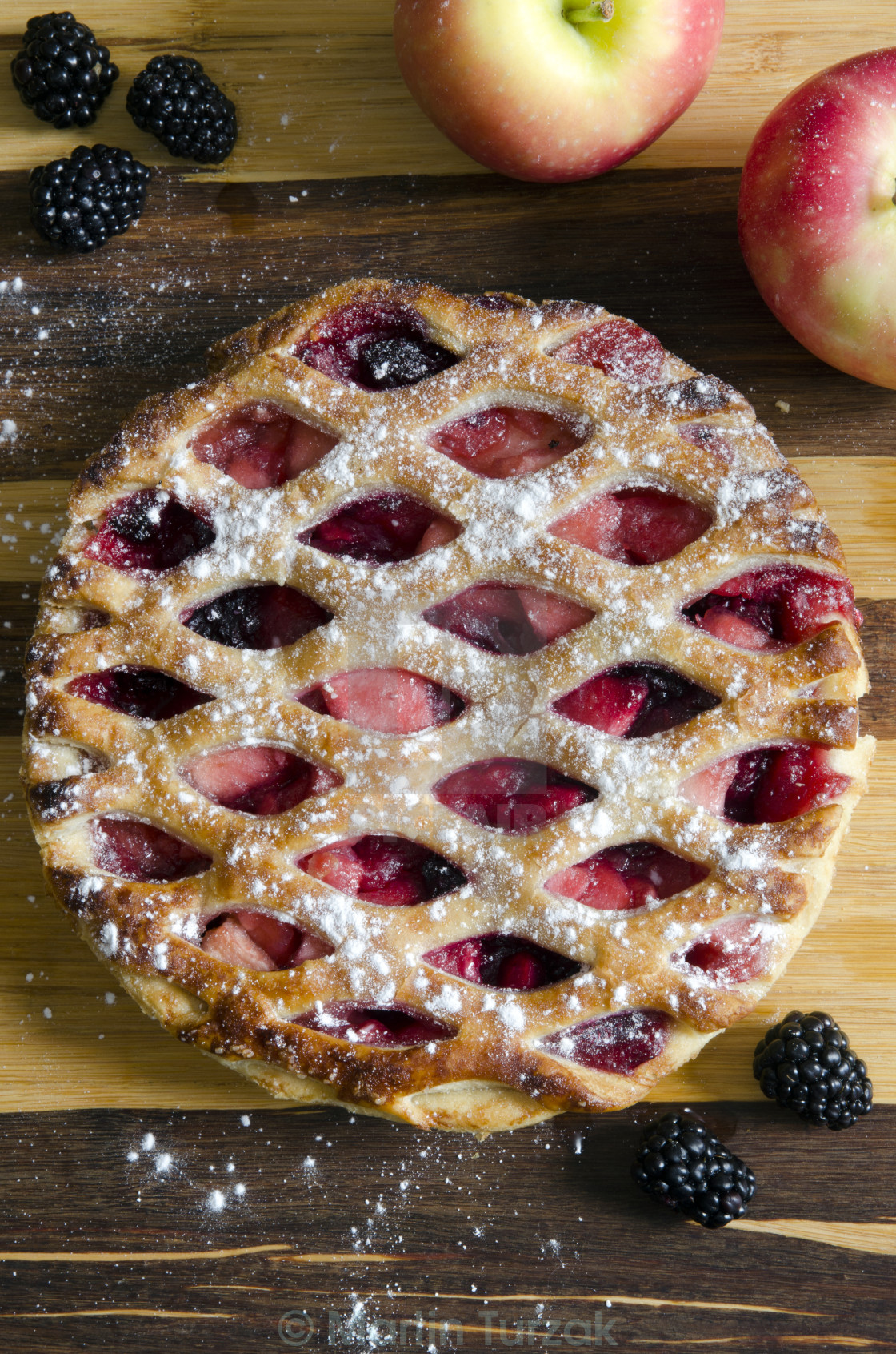 """Apple pie"" stock image"