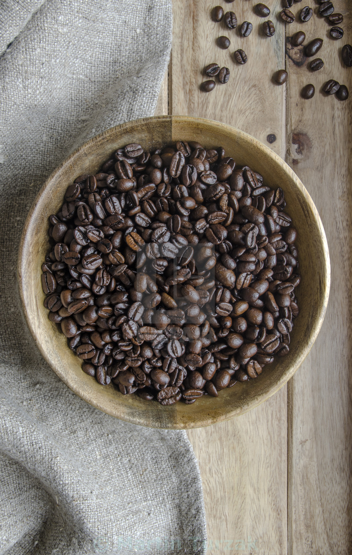 """Coffee beans"" stock image"