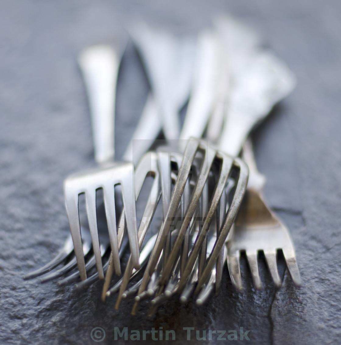 """""""Forks"""" stock image"""