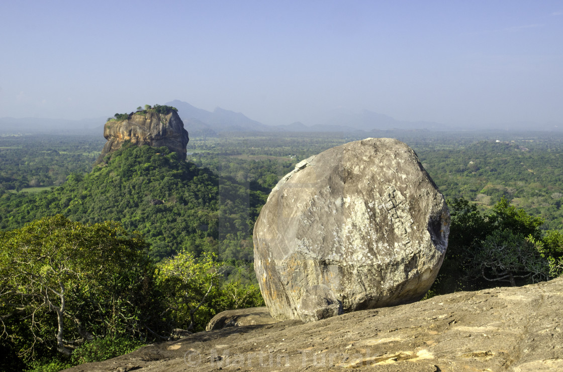"""Sigiriya Rock, Sri Lanka"" stock image"