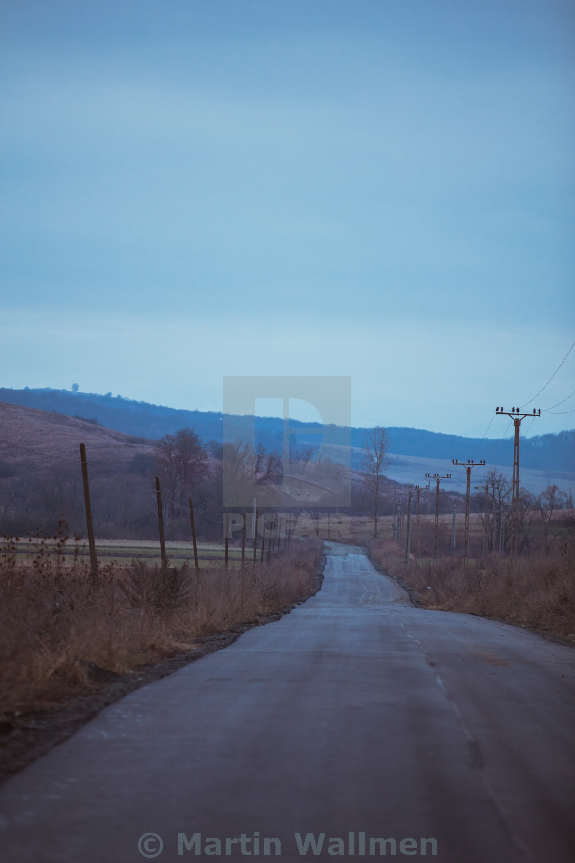 """""""Empty Road"""" stock image"""