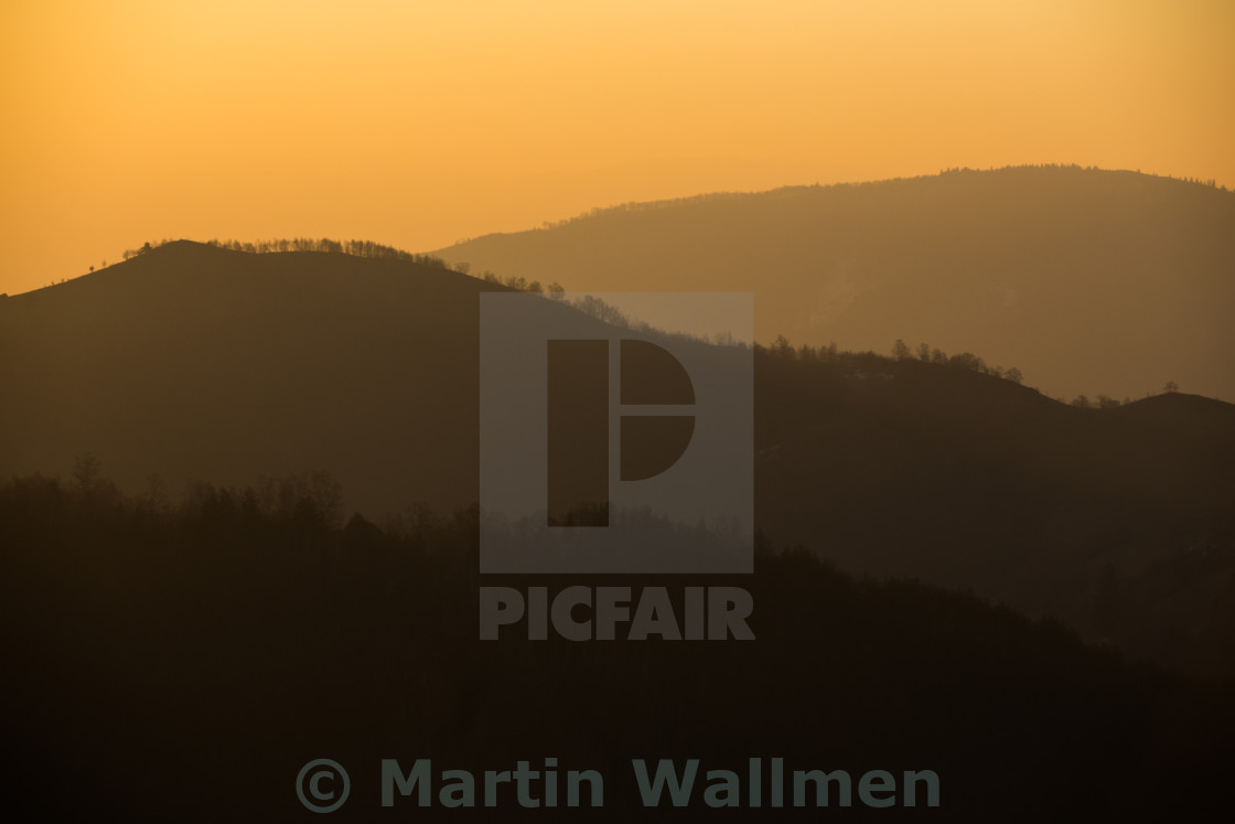 """Yellow Hills"" stock image"